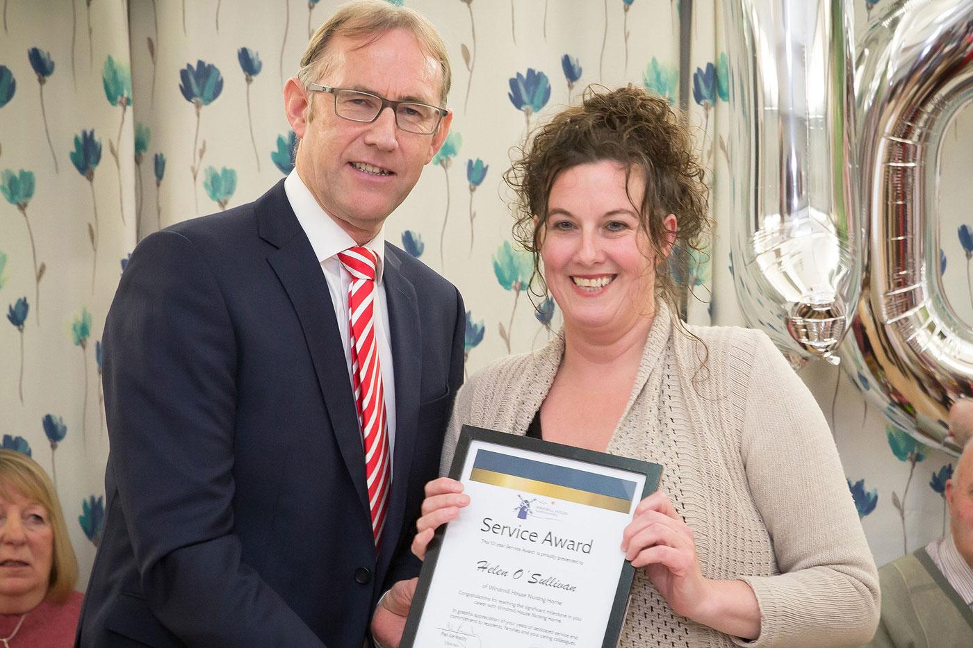 service awards windmill healthcare
